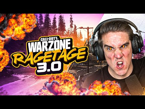 THE WARZONE RAGETAGE 3.0!! FUNNIEST DEATH CHAT REACTIONS YET! (WARZONE)