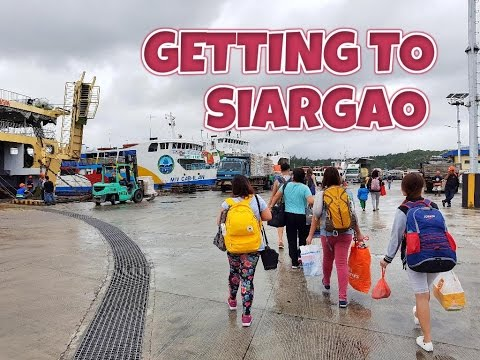 Siargao Series 1/3 - GETTING TO SIARGAO ISLAND (Ep 20)