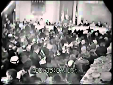 JFK Fort Worth Breakfast November 22 1963 TV coverage