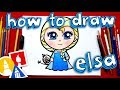 How To Draw Elsa **NEW**