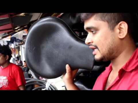 royal enfield seat modification by imran siddique