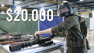 Silo's $20,000 Airsoft Gun Stash (RAREST and MOST EXPENSIVE WEAPONS)