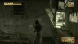 Metal Gear Solid 4 Big Boss Emblem Walkthrough Act 1 Part 2