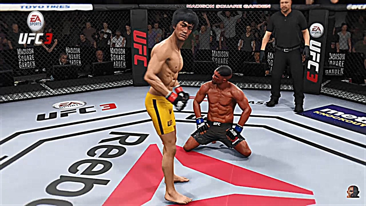 Download BRUCE LEE vs MIKE TYSON 2 2K18 | EA Sports UFC 3