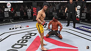BRUCE LEE vs MIKE TYSON 2 2K18 | EA Sports UFC 3