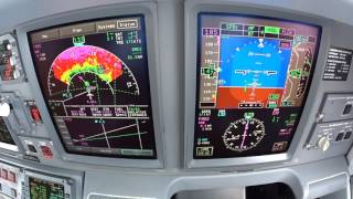 BOGOTA TAKE OFF INSTRUMENT VIEW E190