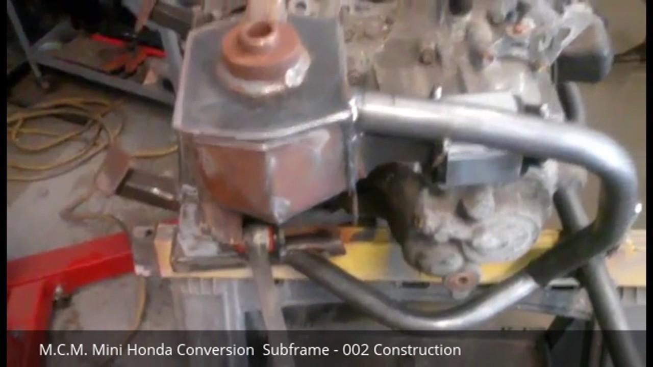 M C M  Honda Conversion Subframe 002 Construction