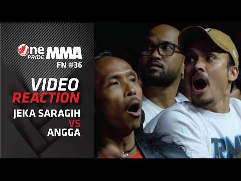 Tegang! Theo, Randi Pangalila & Yayan Ruhian Nonton Onepride-REACTION FIGHT   One Pride MMA FN#36