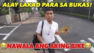 NAWALA ang aking BIKE (Not Once but Twice Na) Alay Lakad Para sa Bukas
