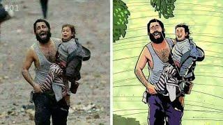 7 صور تحكي معاناة الشعب الفلسطيني الحبيب 😣
