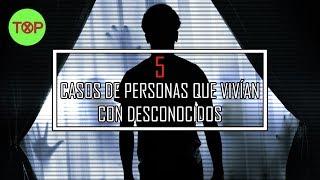 5 Casos de personas que vivían con extraños visitantes