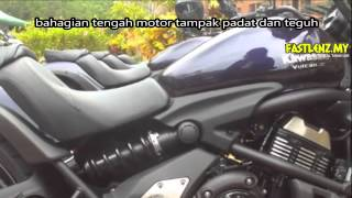 Ulasan@Fastlenz.my Kawasaki Vulcan S 650(A Malay Language presentation of KAWASAKI VULCAN S 650. A new model for 2015 and is selling at around RM30k after GST. An introduction video and ..., 2015-04-16T14:23:51.000Z)
