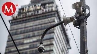Altavoces en CdMx emitirán la alerta sísmica