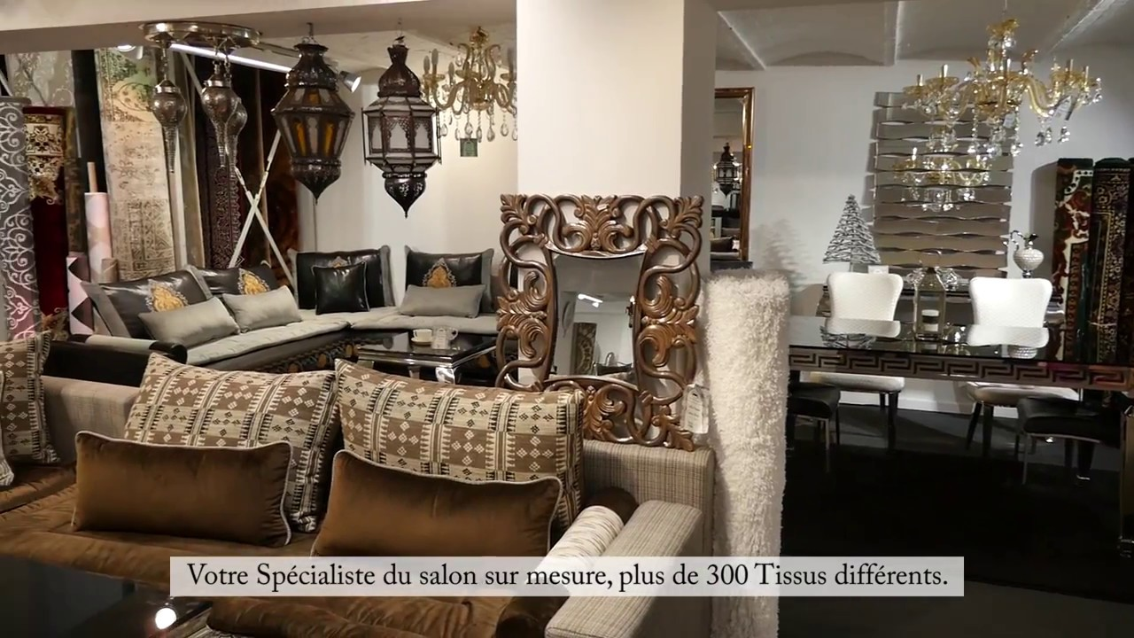 pr sentation showroom sp cialis dans le salon marocain. Black Bedroom Furniture Sets. Home Design Ideas