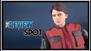 UNBOXING   Hot Toys Back to The Future Part II Marty McFly Sideshow Exclusive Sixth Scale Figure