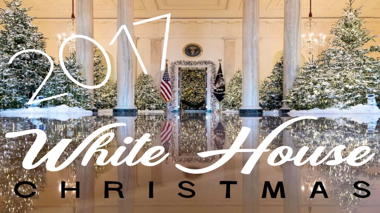 a white house christmas 2017 - 2017 White House Christmas Decorations
