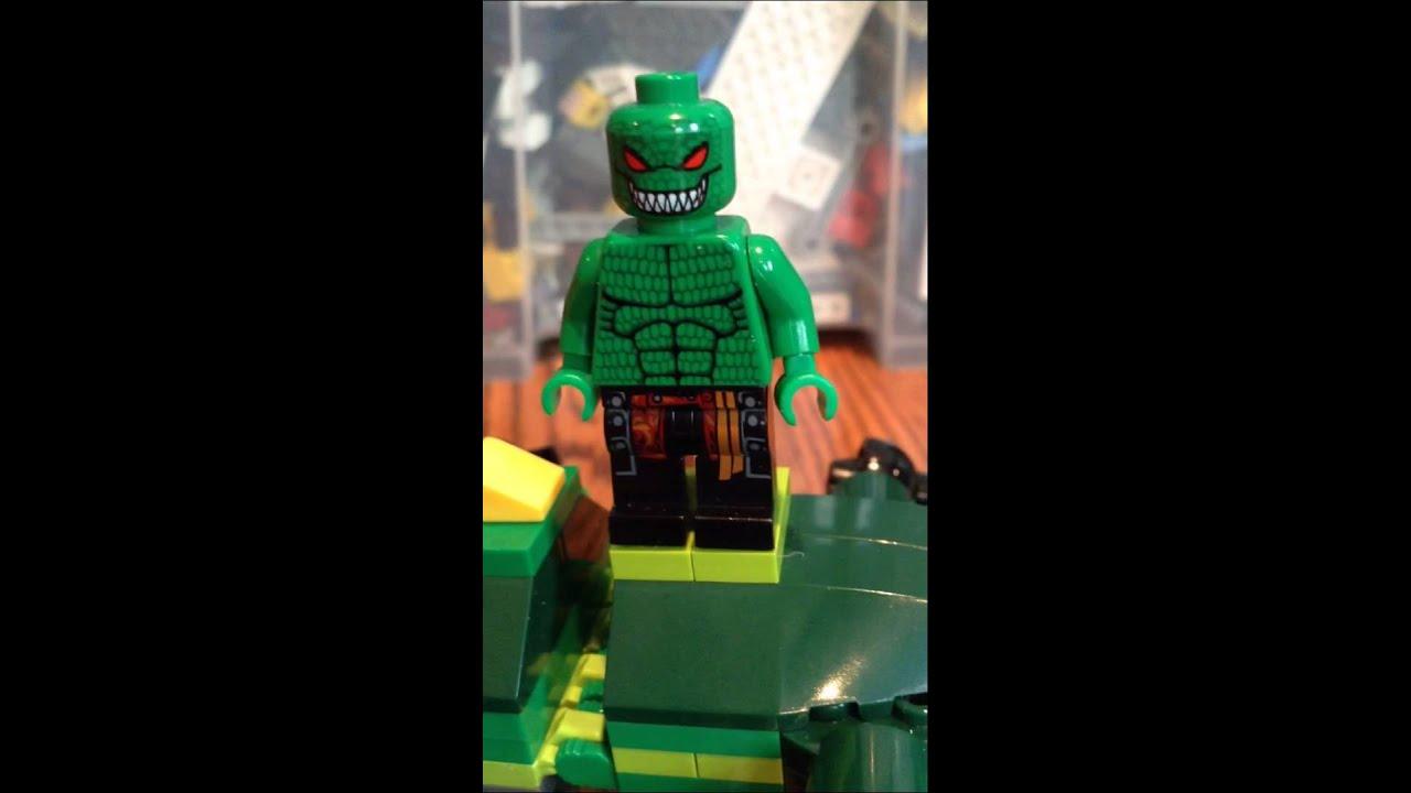 My Custom LEGO Batman Killer Croc Minifigure - YouTube