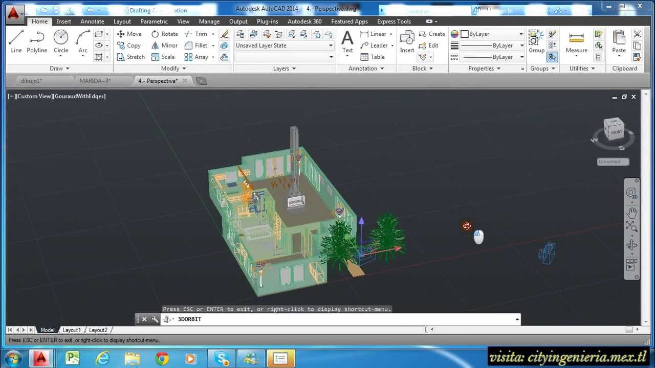 Autocad 2014 Novedades Y Explicaci N General Youtube