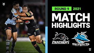 Panthers v Sharks Match Highlights   Round 9 2021   Telstra Premiership   NRL