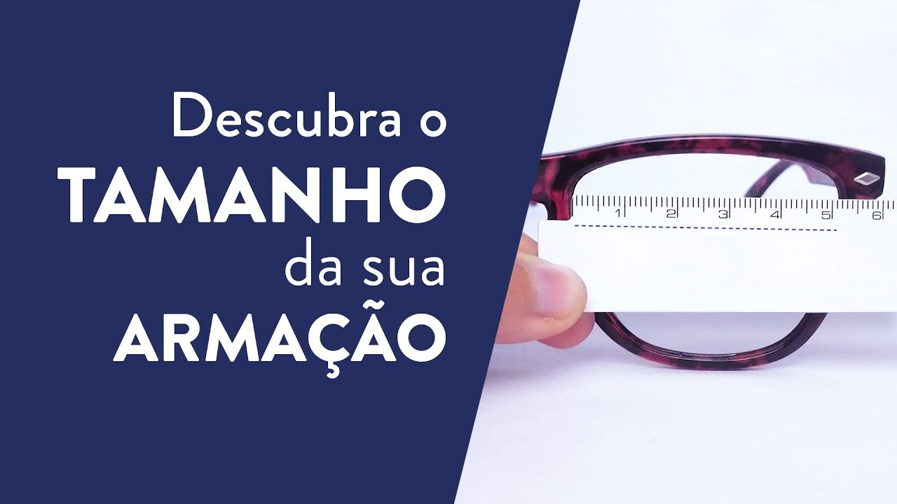 15eb3a23c Como saber o tamanho do óculos | Lenscope