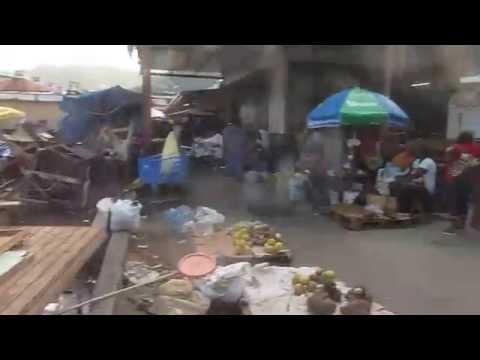 2)  Castries market, Saint Lucia