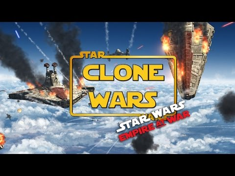 Republic Fleet ENGAGED - The Clone Wars Mod - Ep6- (Star War