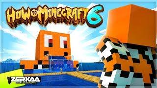 I Built A Giant Nemo Statue & Aquarium!  How To Mi