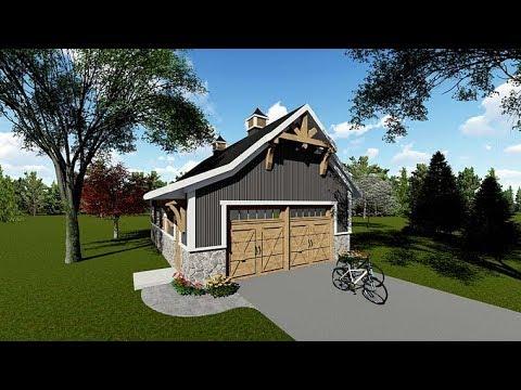 Craftsman 2 Car Garage Plan 75250 at FamilyHomePlans