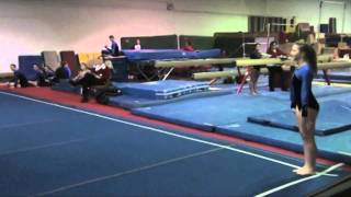 Girl Breaks Both Ankles - Gymnastics Fail/Injury/Accident