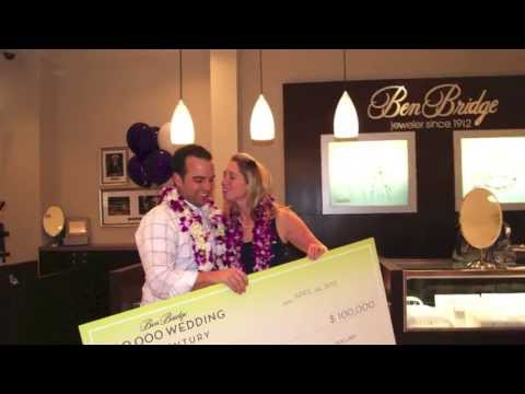 Announcing the 2013 Ben Bridge $100,000 Wedding of the Century Grand Prize Winners