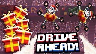 АТАКА ДЕДОВ МОРОЗОВ и ДОБЫЧА ПОДАРКОВ НА НОВЫЙ ГОД! Безумные Новогодние Задания Drive Ahead