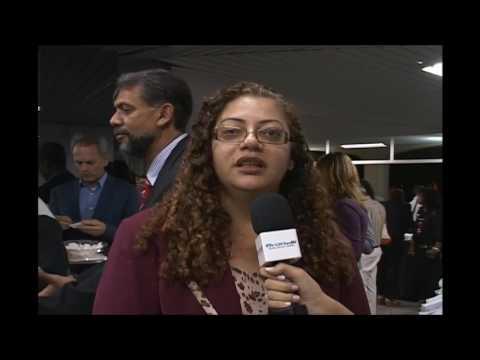 Júnior Brunelli - Entrevista com a Alba Célia  Presidente da FENAI
