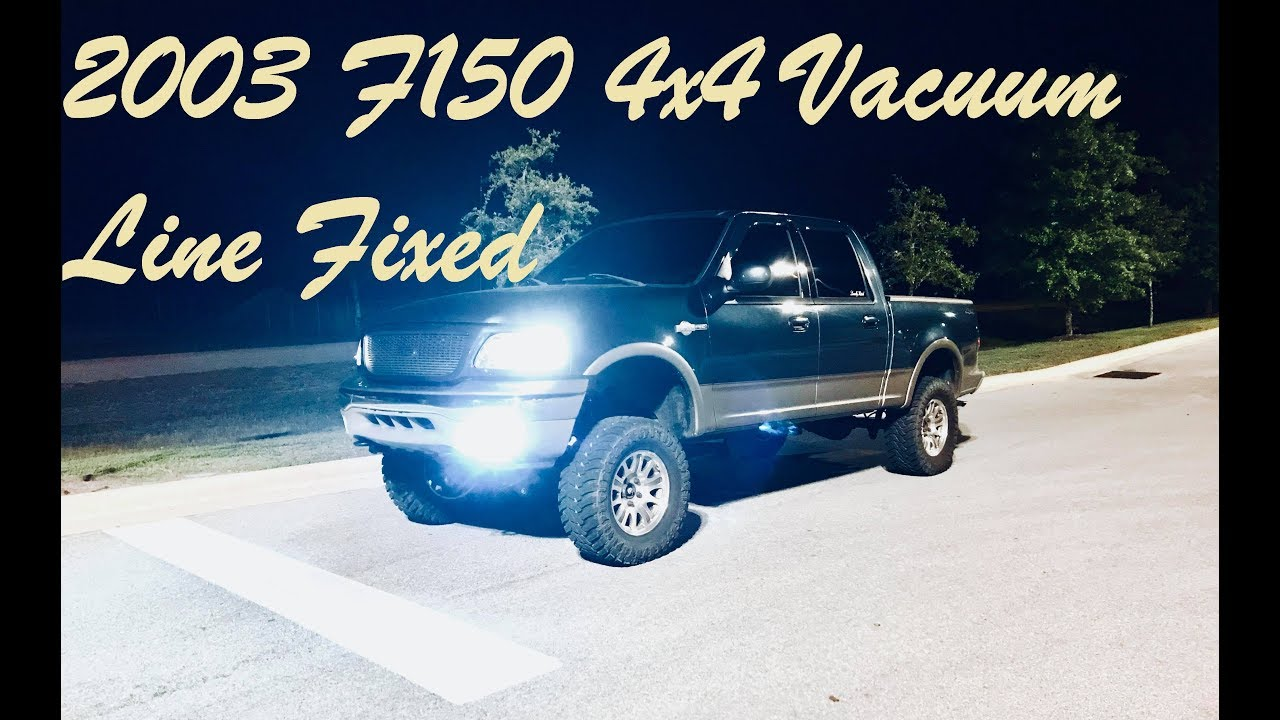 03 F150 4 2 Vacuum Diagram - All Diagram Schematics