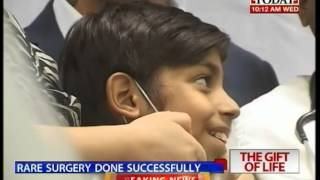 Pakistani child gets live saving surgey in Noida