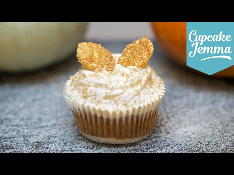 Make Super Awesome Pumpkin Pie Cupcake Recipe | Cupcake Jemma Snapshots