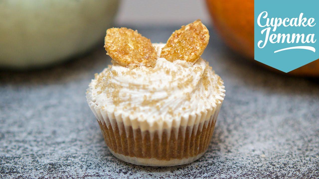 Cupcake Jemma Cake Recipe: Super Awesome Pumpkin Pie Cupcake Recipe