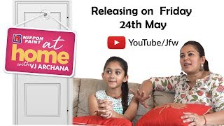 Promo   JFW At Home with VJ Archana   Releasing Soon