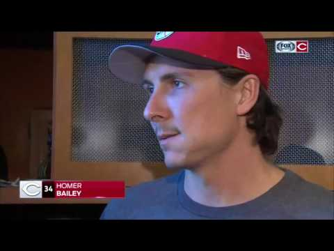 Homer Bailey 'frustrated' to be going back to DL