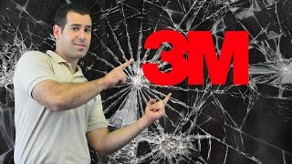 3M Security Window Film - 3M Window Film Demonstration & Explanations