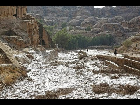 Flash Flood In PETRA Brings Biblical END TIMES (Prophetic Word from JESUS)