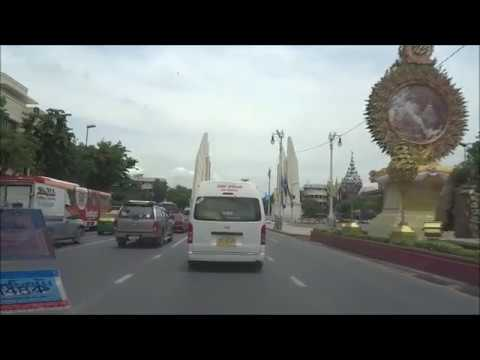 Thailand, Bangkok: Uber ride from IBIS Hotel in Siam to the Grand Palace