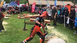 Motorsagkonkurranse/Chainsaw competition - Dyrsku'n 2017