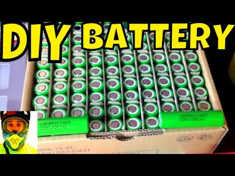Planning on making your own battery pack? DIY guide / tutorial • 18650 cells Electric Bike