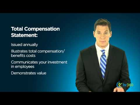 Total Employee Compensation Statements
