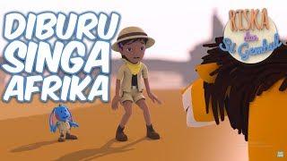 Riska Dan Si Gembul - Diburu Singa Afrika