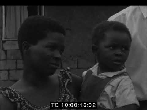 Lumumba's Distressed Wife | Appealed To UN for the Return of Her Missing Husband  | Jan 1960