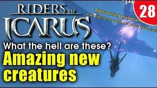 Riders Of Icarus - Alliance Stingray / Sky Habratun Un-tamable HEROIC mounts! (Lvl 50 HEROIC)