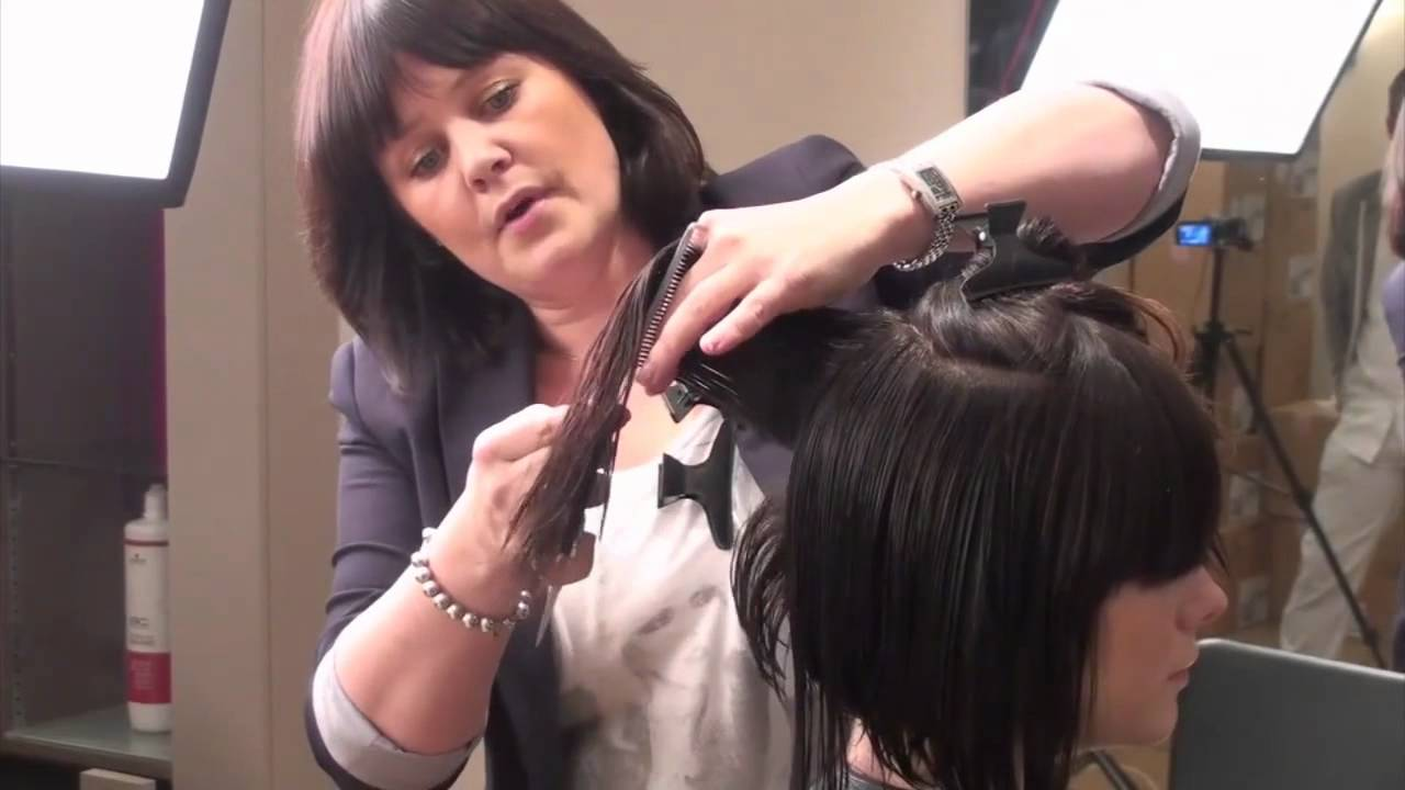 How to get a Shag Haircut with Scissors & Razors - YouTube