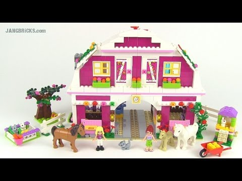 Lego Friends 2014 Sunshine Ranch Set 41039 Review Youtube