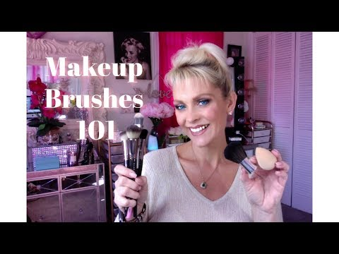 Makeup Brushes 101: I ByJenniferlynn How to use, Types of brushes, How to clean, How to store